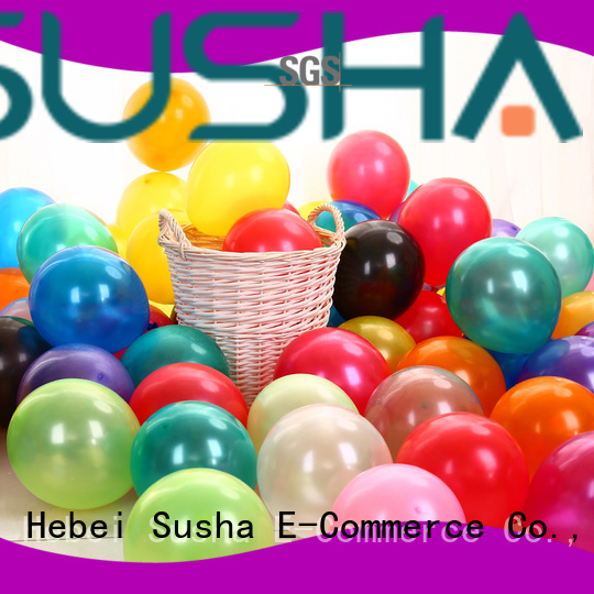 Susha confetti balloons manufacturer for birthday parties