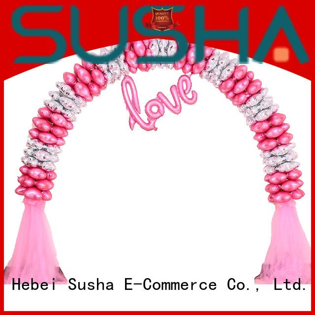 Susha wedding decoration balloon accessories customization for birthday
