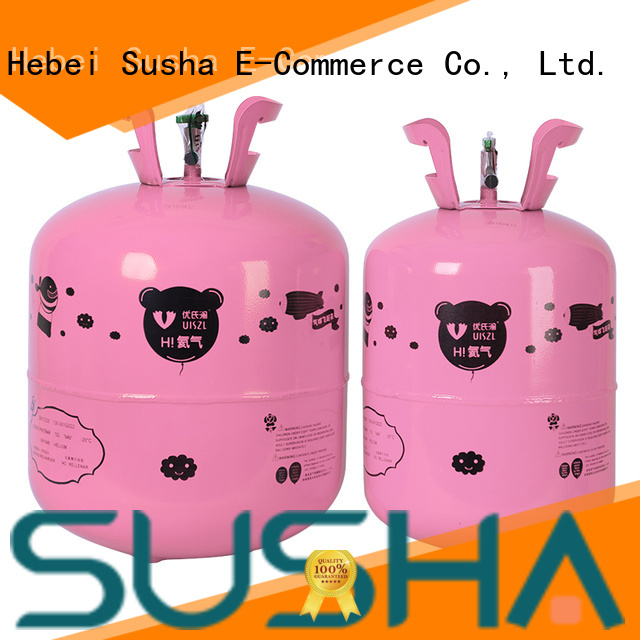Susha electric helium canister factory price for wedding