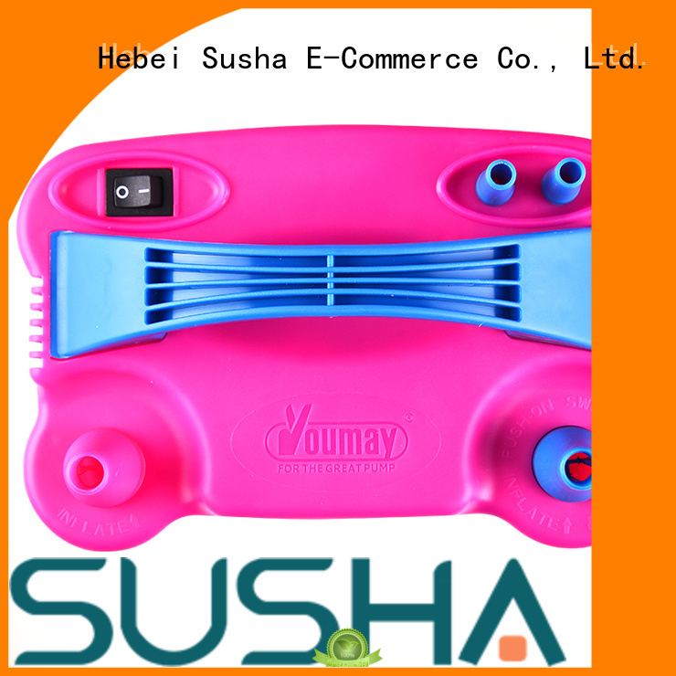 Susha accessories electric balloon pump customization for wedding