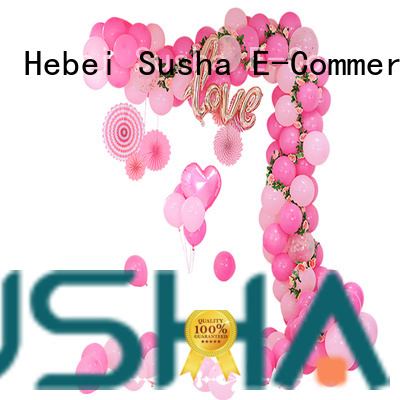 Susha handheld electric balloon pump factory price for birthday