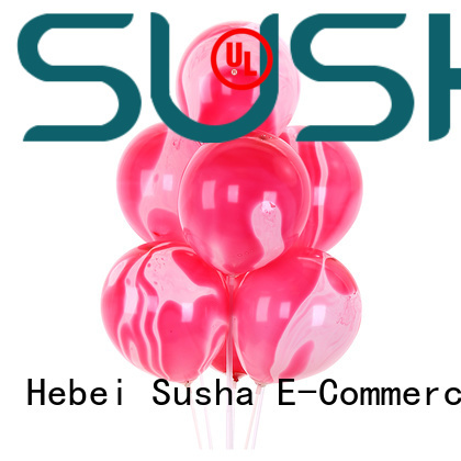 Susha peacock confetti balloons manufacturer for wedding
