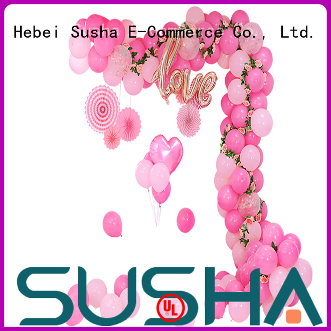 Susha accessories balloon accessories factory price for wedding