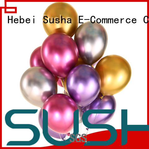 confetti latex balloons manufacturer for wedding