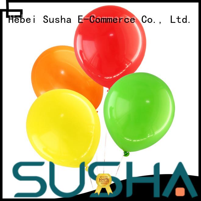 Susha romantic wedding balloons manufacturer for wedding