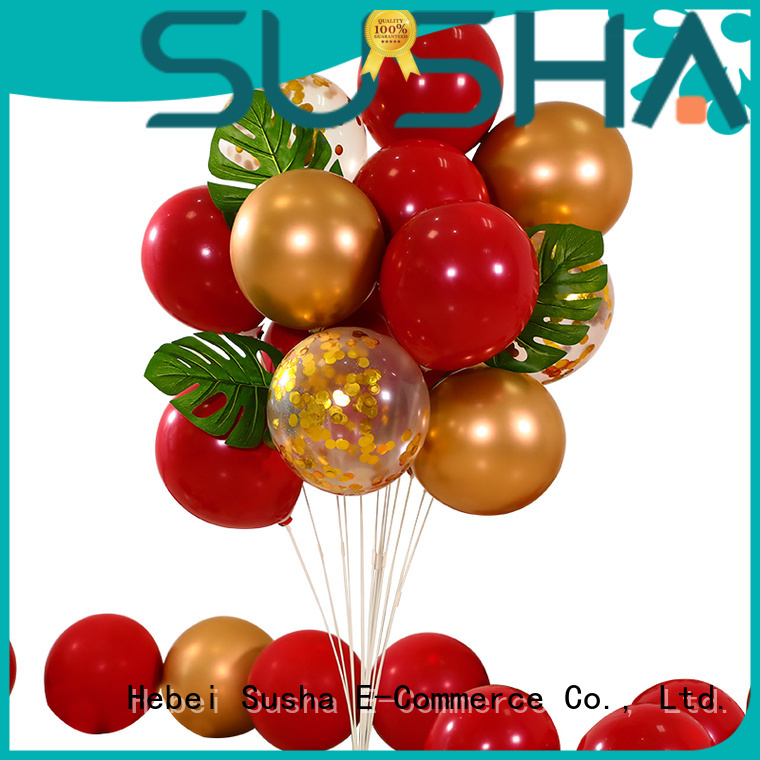 Susha romantic wedding balloons manufacturer for celebration activities