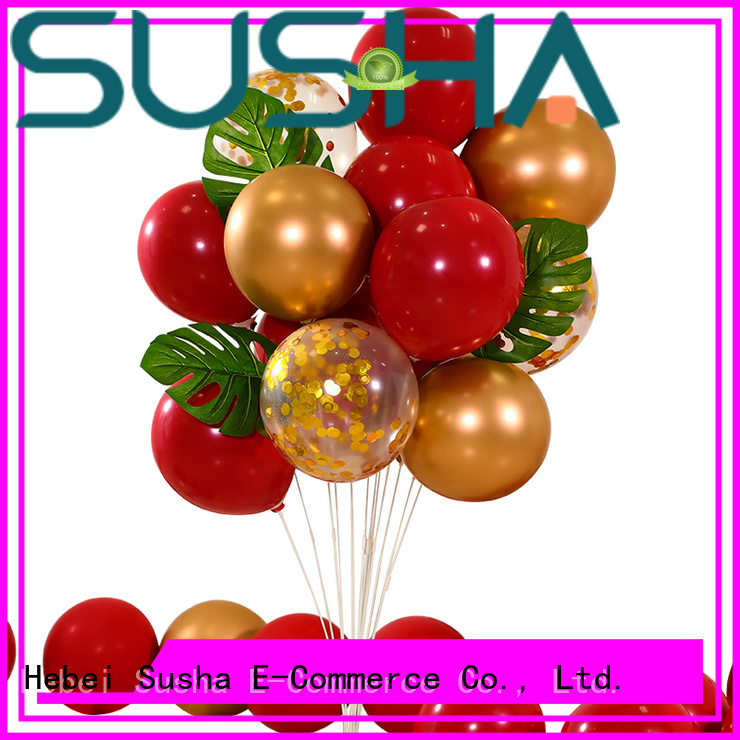 Susha heart-shaped wedding balloons China factory for wedding