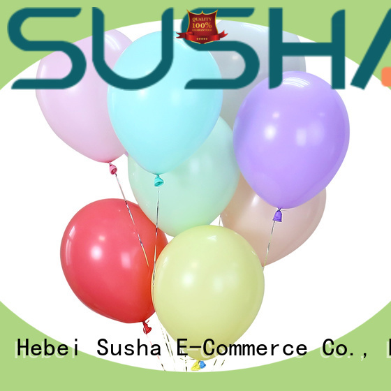 Susha romantic wedding balloons manufacturer for birthday parties