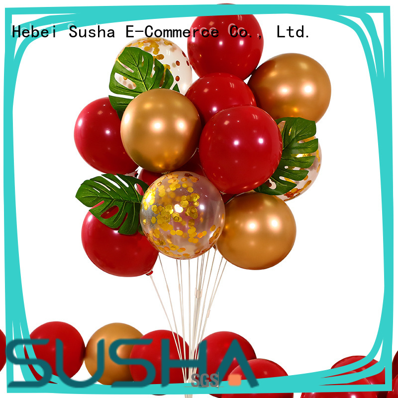 transparent latex balloons China factory for wedding