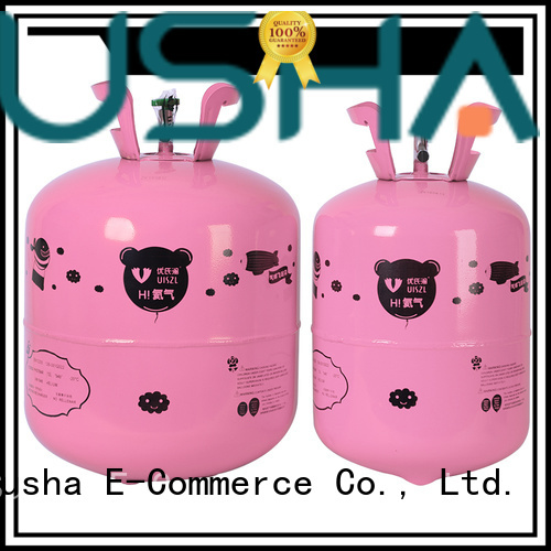 Susha helium canister customization for celebration activities