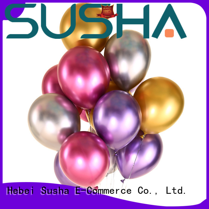 Susha confetti party balloons manufacturer for wedding