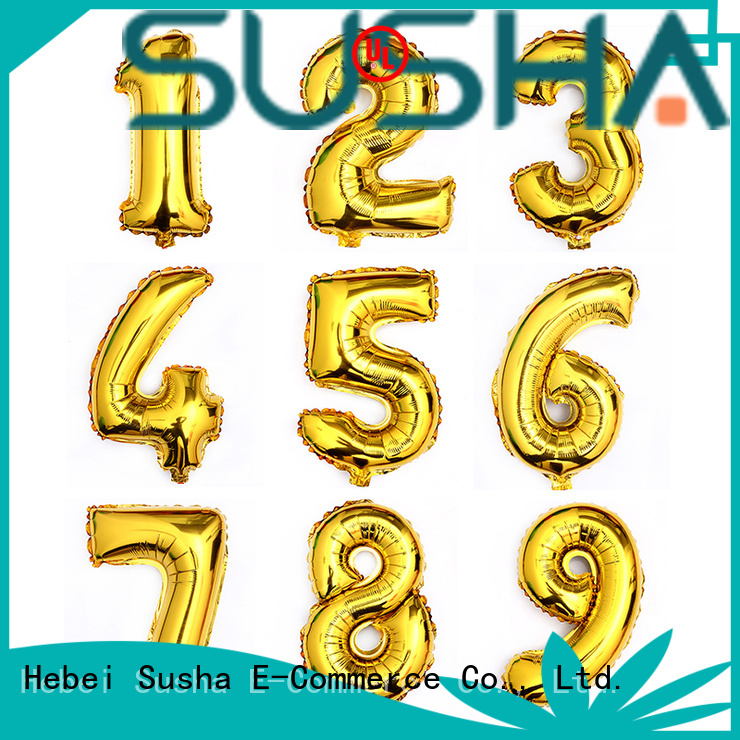 Susha dedicated foil balloons wholesale for wedding
