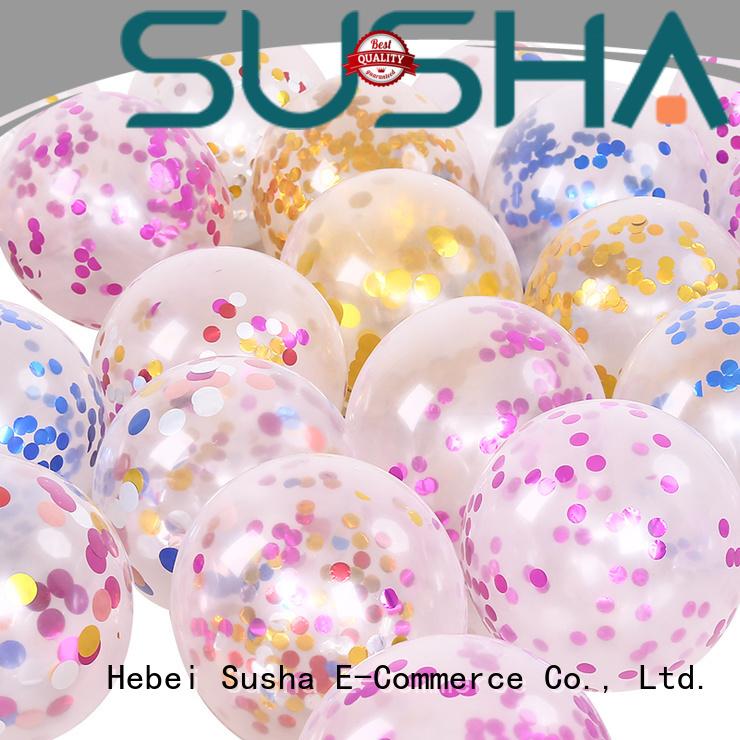 Susha heart-shaped latex balloons China factory for celebration activities