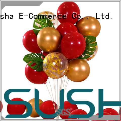 Susha wedding balloons China factory for wedding