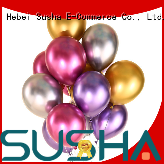 Susha peacock confetti balloons manufacturer for celebration activities