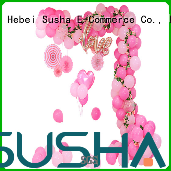 Susha electric balloon pump customization for wedding