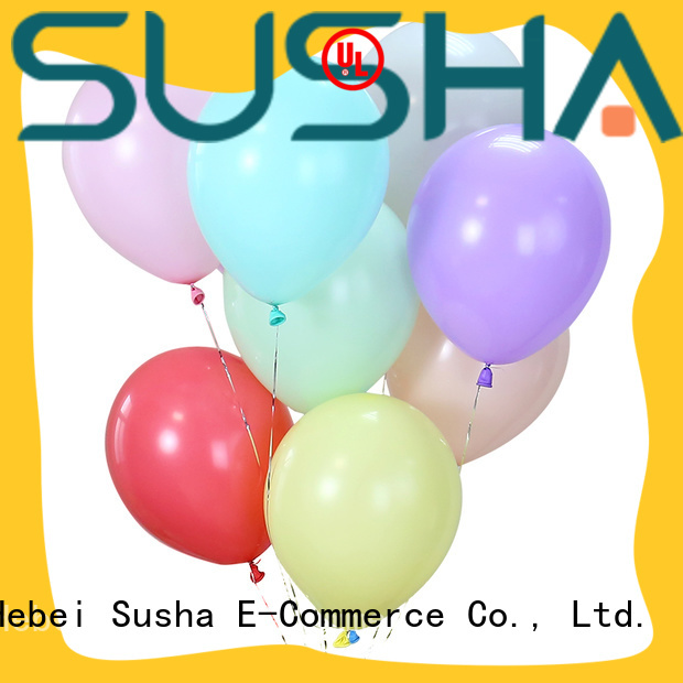 Susha heart-shaped latex balloons manufacturer for birthday parties