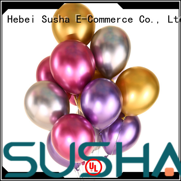 Susha party balloons manufacturer for celebration activities