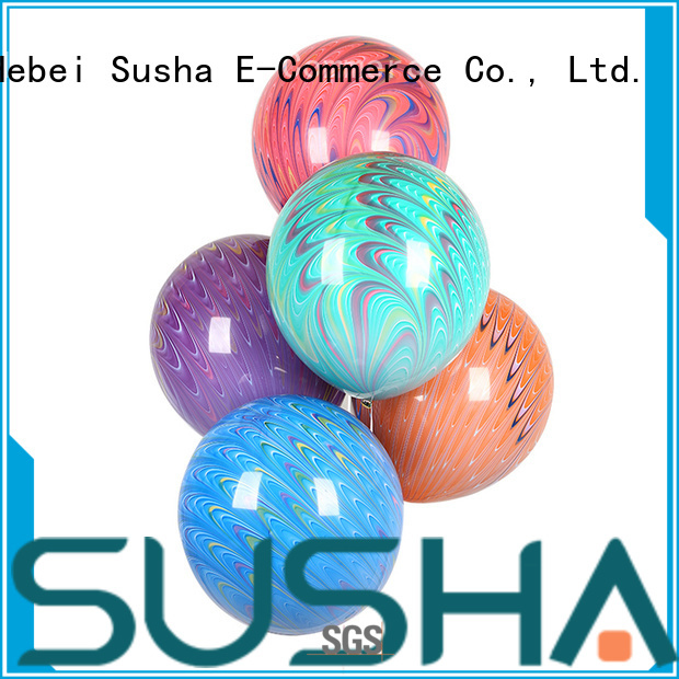 Susha heart-shaped latex balloons manufacturer for celebration activities
