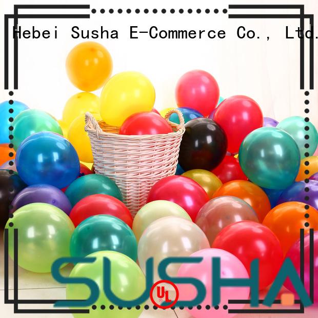 Susha confetti balloons manufacturer for wedding