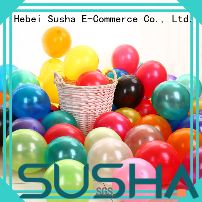 Susha confetti party balloons China factory for celebration activities