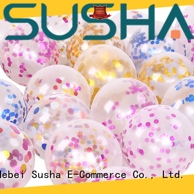 heart-shaped confetti balloons manufacturer for birthday parties