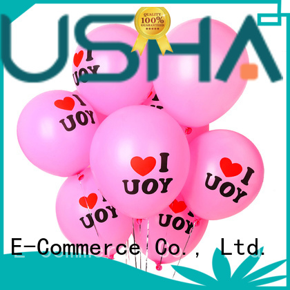 Susha heart-shaped latex balloons China factory for wedding