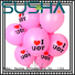 transparent confetti balloons China factory for celebration activities