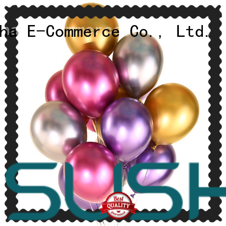 Susha romantic party balloons manufacturer for birthday parties