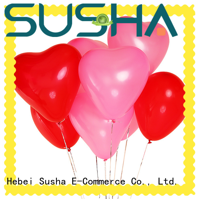 Susha peacock latex balloons manufacturer for wedding