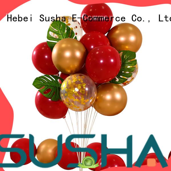 Susha latex balloons manufacturer for wedding
