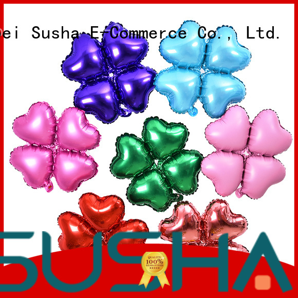 Susha foil number balloons wholesale for proposal