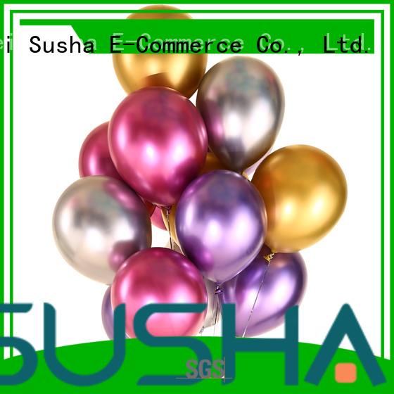Susha heart-shaped confetti balloons China factory for birthday parties