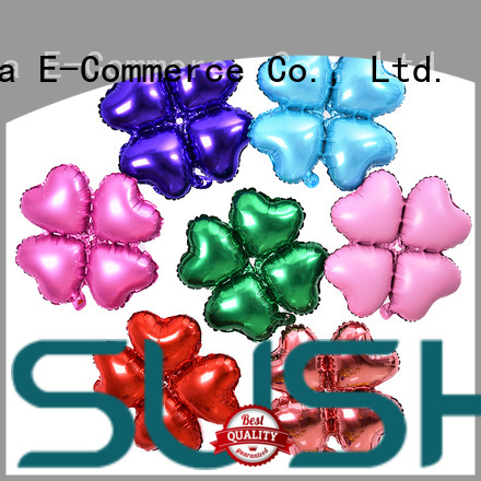 clover foil number balloons wholesale for birthday