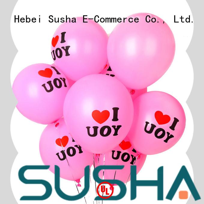 Susha romantic wedding balloons China factory for wedding