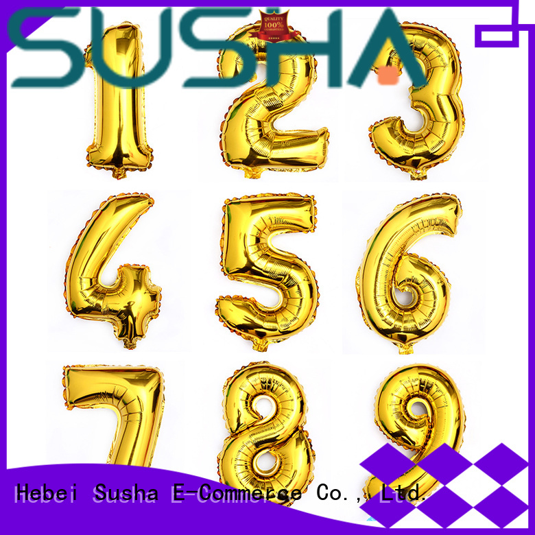 Susha foil number balloons buy now for engagement