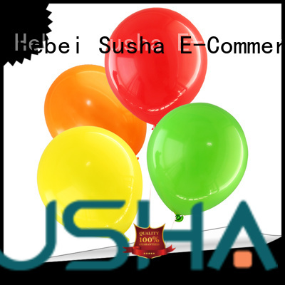 Susha party balloons manufacturer for wedding