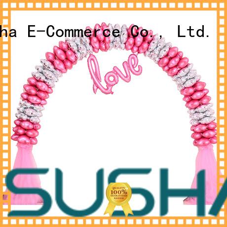 Susha hand push balloon accessories customization for celebration activities
