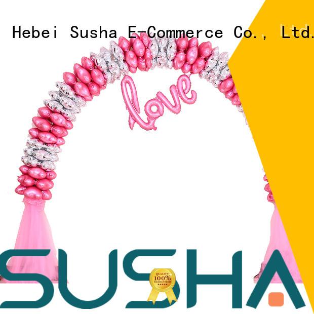 Susha balloon accessories customization for wedding