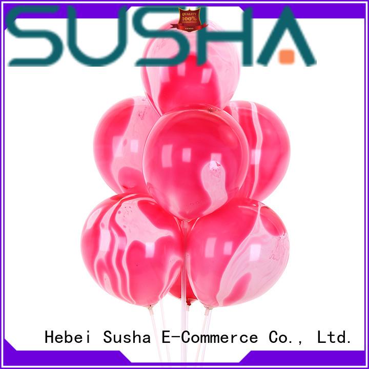 latex bubble balloons China factory for celebration activities Susha