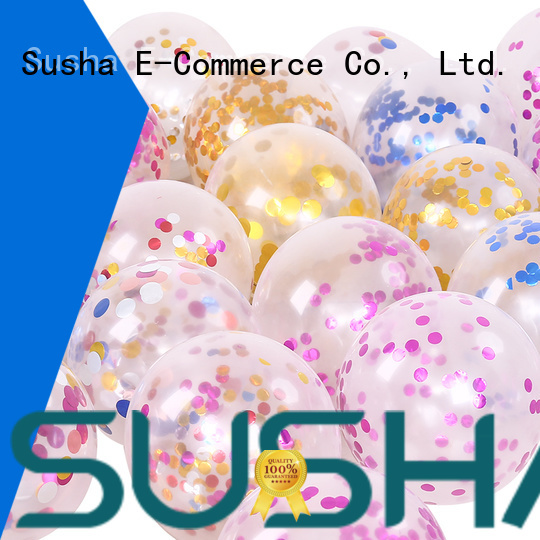 Susha party balloons China factory for birthday parties