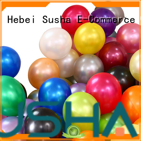 Susha confetti confetti balloons China factory for birthday parties
