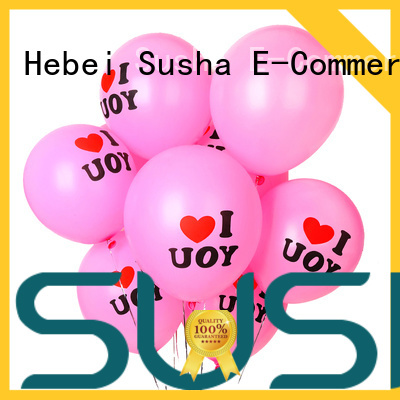 Susha 18 inches confetti balloons manufacturer for celebration activities