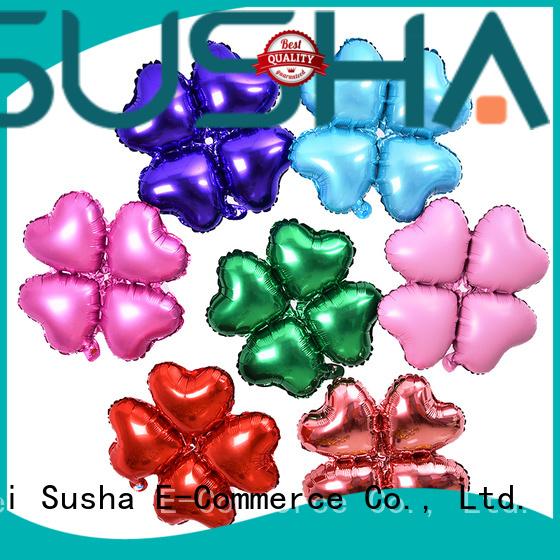 Susha foil balloons manufacturer for wedding