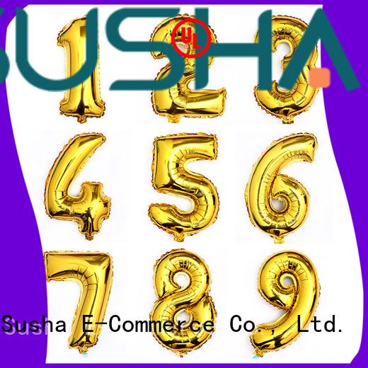 Susha foil balloons wholesale for proposal