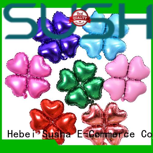 Susha foil balloons wholesale for wedding