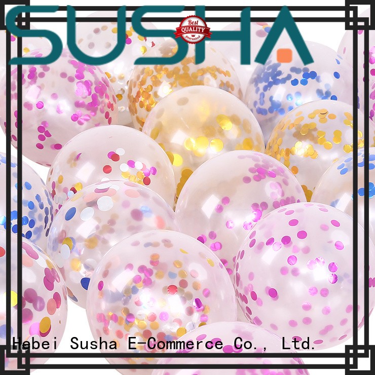 Susha 18 inches wedding balloons China factory for birthday parties