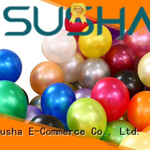 Susha confetti party balloons China factory for wedding