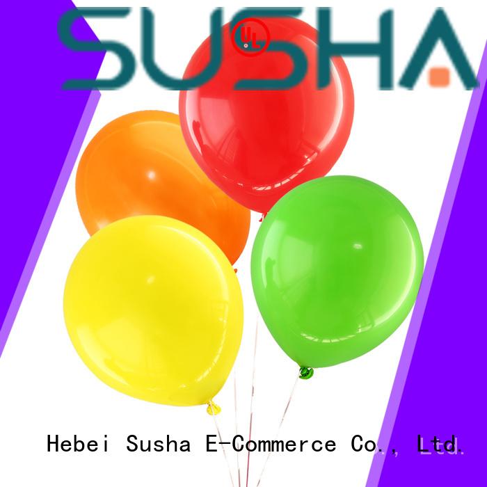Susha transparent wedding balloons China factory for celebration activities